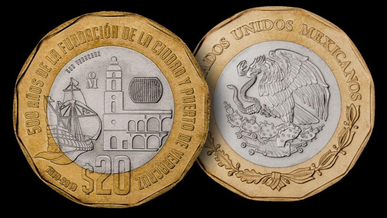 Nueva moneda de 20 pesos sale a circulación: Banxico - El..