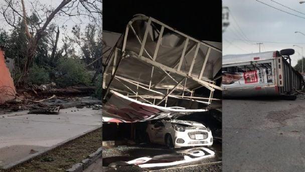 FOTOS: Caos y destrucción deja súper tormenta en Nuevo Laredo | El Mañana  de Nuevo Laredo