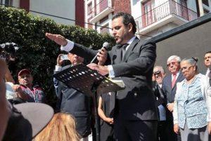 Rinde protesta Edil de Cuernavaca en la calle