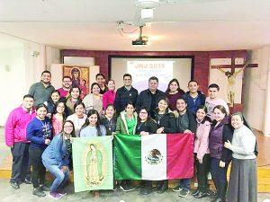 Parten 40 jóvenes a Jornada Mundial