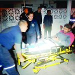 Motociclistas  lesionados en  dos accidentes