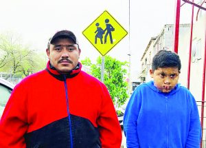 Rescata familia  a niño extraviado