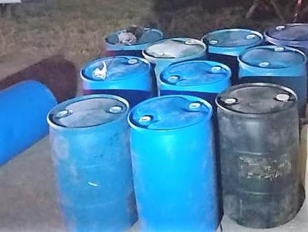 Aseguran gasolina robada en Reynosa