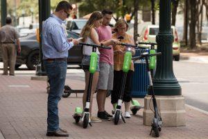 Podrían circular scooters de renta