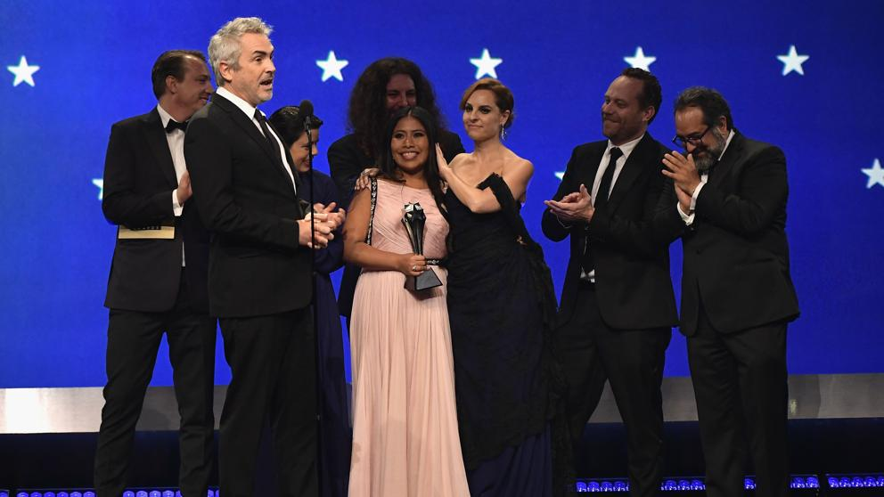 Triunfa 'Roma' en los Critics' Choice Awards