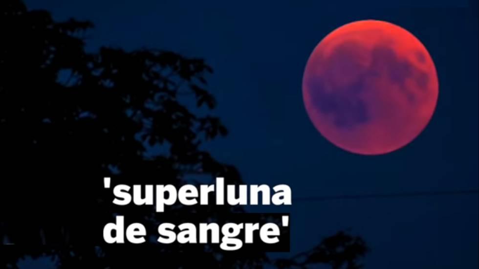 Superluna de sangre con eclipse lunar total: dónde y cuándo verlo