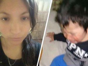 Mujer golpea a su hijo y manda el video a su ex marido