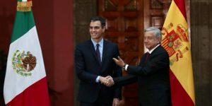 Recibe AMLO al presidente del gobierno español