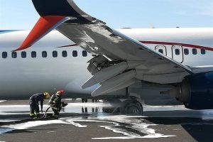 Sufre avión percance en Aeropuerto tapatío