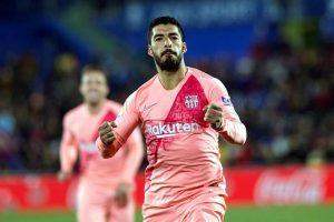 Llevan Messi y Suárez al Barcelona a la cima