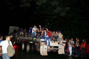 Sale nueva caravana de Honduras