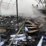 Se incendian bodegas para papel en Reynosa
