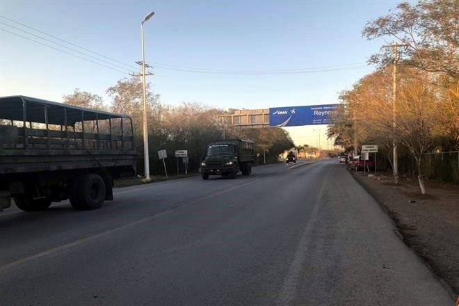 Refuerzan Reynosa; llegan 600 militares
