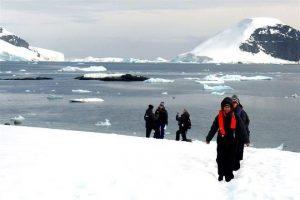 Científicas hallan sonido de Antártida