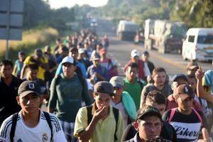 Ingresan migrantes por Chiapas