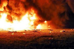 Suman 66 muertos tras explosión en ducto