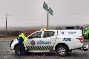 Cierran Autopista Monterrey-Saltillo