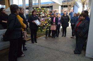 """Rinden homenaje a """"Lula"""" enfermera que dio su vida por salvar la de otros"""
