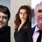 Anne Hathaway, Alfonso Cuarón y Guillermo del Toro juntos en 'Las Brujas'