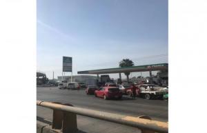 Desabasto de gasolina provoca pánico en Guanajuato