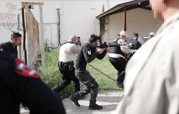 Agentes de Tamaulipas y Texas intercambian técnicas de reacción
