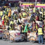 Neza recogerá basura en triciclos ante desabasto de combustible