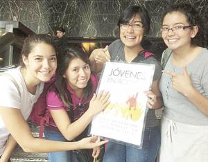 Lanzan convocatoria de Jóvenes en Acción