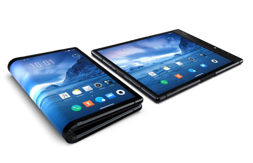 Muestran el primer 'smartphone' plegable ya disponible en el mundo
