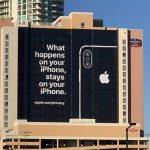 Apple trollea al CES 2019 con publicidad gigante en Las Vegas