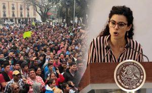 Convocan a diálogo para resolver huelga en maquiladoras de Matamoros