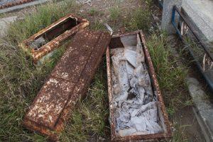 Mineras no respetan ni a los muertos