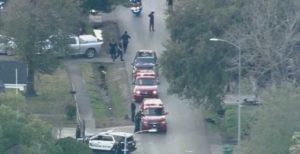 Tiroteo en Houston deja al menos cinco oficiales heridos