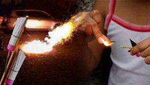 Niña de 5 años muere por explosión de cohete en el pecho