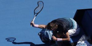 "Tenista se vuelve ""loco"" en el Australian Open (VIDEO)"