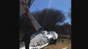 Se desploma avioneta en Durango; muere vocal ejecutivo del INE