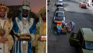 Captan a 'Reyes Magos' ladrones; se llevan moto de juguete