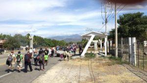 Caravana migrante llega a Oaxaca