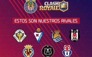 Chivas presenta equipo profesional para Clash Royale