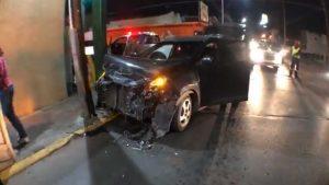 Accidente deja 2 heridos y un  preinfarto