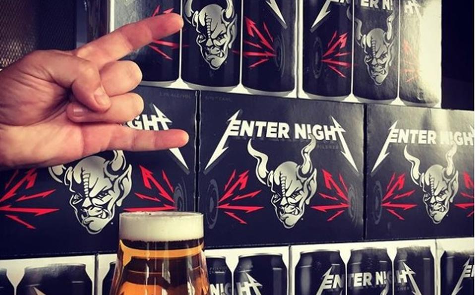 Metallica lanza su cerveza para los amantes del metal