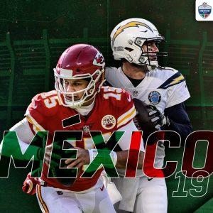 ¡Es oficial! Chargers jugarán en México contra los Chiefs
