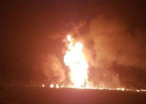 Confirman al menos 20 muertos por explosión de ducto en Tlahuelilpan, Hidalgo