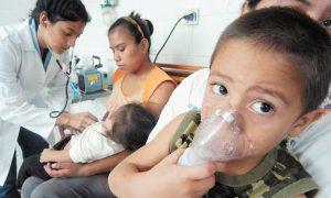 Aumentan los   casos de males  respiratorios