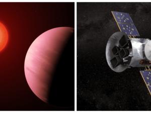 La NASA descubre un exoplaneta que podría contener agua en su superficie