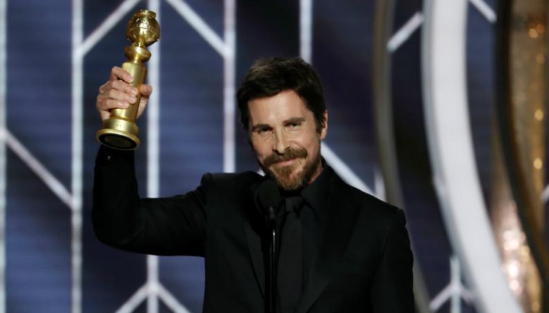 Christian Bale agradeció a Satanás en los Globos de Oro y causa controversia