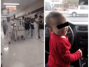 Honran a Alondra, una bebé que donará sus órganos en Nuevo León