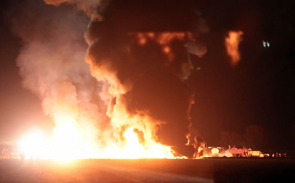 Ropa pudo causar estallido de ducto.- FGR