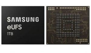 Samsung presenta el almacenamiento flash de 1TB para smartphones