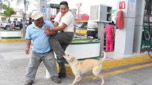 ¡Por valiente!, recibe regalos ''Randy'', perrito que frustró robo en gasolinera