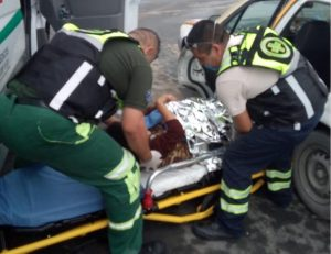 Mujer da a luz a bordo de taxi en Nuevo León